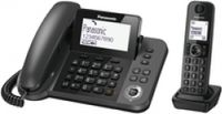 PANASONIC 2 in 1 cordless DECT Telephone for Spain & Italy Plug-Type C (EU)