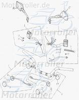 Lenkerarmatur links Schalter-Elemente 35200-159-000