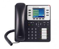 Grandstream Networks GXP2130 v2, IP-Telefon, Schwarz, Grau, Kabelgebundenes Mobilteil, 3 Zeilen, 2000 Eintragungen, Digital