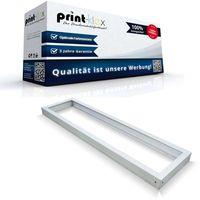 LED Panel Rahmen 120x30cm Anbaurahmen Aufputzrahmen Wandrahmen Weißer Rahmen - Office Plus Serie