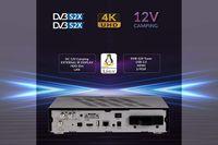 ► AX 4K-BOX HD61 UHD 2160p E2 Linux TWIN Receiver mit 2x DVB-S2x Tunern ⭐⭐⭐⭐⭐ ✅