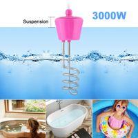 3000W Tauchsieder Reisetauchsieder Wasserkocher Pool Aufblasbar Heizspirale Wasserkocher Badewanne