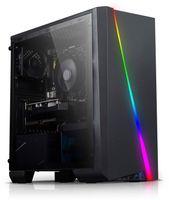 Gaming PC Allround AMD Ryzen 5 3400GE, 16GB RAM, AMD Radeon Vega, 512GB SSD, 2000GB HDD