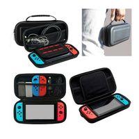 Für Nintendo Switch Tasche Bag EVA Hülle Schutzhülle + Ladekabel+Temper
