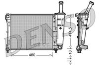 DENSO Kühler Motorkühlung für FORD KA RU8 für FIAT 500 312