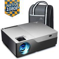 """Beamer 7000 Lux, VANKYO Native 1080p Full HD Beamer, Heimkino Beamer mit 300"""" Display, unterstützt HDMI USB VGA TV Stick Xbox Laptop Smartphone, für Geschäftspräsentationen"""