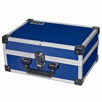 Ironside 191-007 Alu Werkzeugkoffer, 330 x 230 x 150 mm, blau (1 Stück)