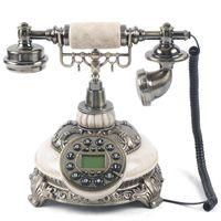 Retro Tischtelefon Klassische Festnetztelefon Retro-Tastentelefon Haustelefon