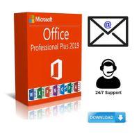 Office 2019 Professional Plus Vollversion Key 32/64 Bit Downlod