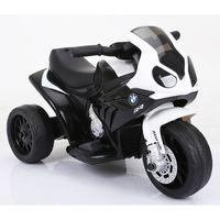 Kinder Elektro Motorrad BMW Dreirad Kinderfahrzeug Elektromotorrad 1x25W Schwarz