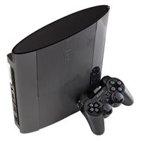 Sony PlayStation 3 Spielkonsole mit Gamepad, Move - Kabellos - HDMI - Schwarz - 1080p - DTS, Dolby TrueHD, DTS-HD Master Audio, Dolby Digital Plus, Dolby Digital - Blu-ray Player - IBM Prozessor - RSX GPU - 12 GB Flash Speicher - Gigabit Ethernet - Bluetooth - Drahtloses LAN - USB