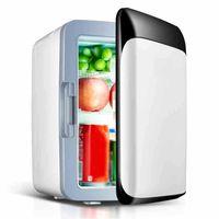 MEIYOU Mini Kühlschrank, 10 L Minibar Kühlschrank, Mini Gefrierschrank, Kühlschrank Klein, Flaschenkühlschrank