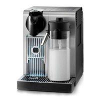 DeLonghi EN750.MB Lattissima Pro Nespresso Kaffeekapselmaschine Aluminium gebÃ1/4rstet