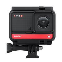 Insta360 ONE R 4K Edition Anti-Shake-Sport-Action-Kamera 4K-Weitwinkelobjektiv unterstuetzt FlowState-Stabilisierung 5M-Koerper Wasserdichte Hyperlapse-Sprachsteuerung Zeitlupen-Nachtaufnahme HDR-Foto-Video