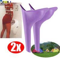 10 Teile Einweg Weiblichen Urinal Trichter Urinieren Gerät für Reisen Camping CV