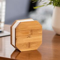 Gingko Akkordeon Lampe - in verschiedenen Farben, Farbe:Bambus