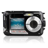 Wasserdichte Digitalkamera Unterwasserkamera Videorecorder Selfie Dual Screen DV-Aufnahmekamera