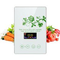 Gemüse Obst Sterilisator Ozongenerator Luft Wasser Reiniger Ozon-Generator Ozongerät mit LED Touch Display 600mg/h
