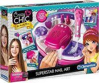 Clementoni Crazy Chic Superstar Nageldesign