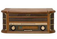 Stereoanlage mit CD, MP3, Plattenspieler, Kassette, Radio, AUX-In und USB Denver MCR 50