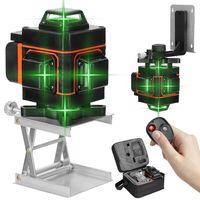 4D 16 Lines Laser Level 360°Kreuzlinienlaser Kreuzlaser Linienlaser Measure