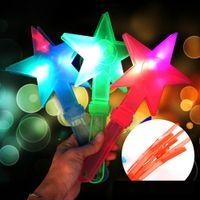1Pc Star LED Handklappe Noise Maker Blitzlicht Leuchtstab Party Konzert Gunst