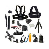 21 stücke Kamera Zubehör Cam Werkzeuge für Outdoor Fotografie Kameras Schutz Werkzeug für Reisen Reiten Klettern