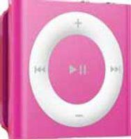 Apple 2GB iPod shuffle iPod, Pink, Flash-media, 2 GB, AAC, MP3, WAV, 3.5 mm, 20 - 20000 Hz