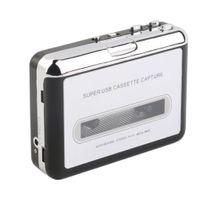 1 Stück Tragbarer USB Kassettenspieler Kassette zu MP3 Digital Konverter + USB-Kabel, Kopfhörerkabel