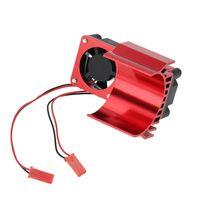 Kühlkörper 540 550 Lager Modifizierte Motorkühlung Fan 3650 RC Auto 1/10 Rot