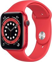 Apple Watch Series 6 GPS 44mm Red Alu Case Red Sport Band