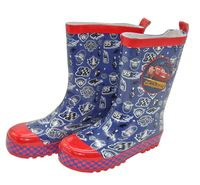 Kinder Gummistiefel Cars Regenstiefel Schlupfstiefel Stiefel Regen Schuhe Navy, Schuhgröße:EUR 31/32