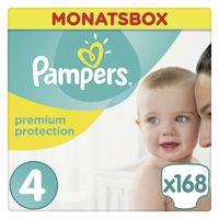 Pampers Premium Protection Gr. 5 Junior 11-16kg MonatsBox, 136 Stück - Größe 5 - 136 Stück