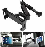 Tablet Halterung Auto Kopfstütze, Universal Ausziehbare KFZ Kopfstützen Halterung Unterstüzt Kompatibel mit 4,7-12,9 Zoll Handy Tablet (Ausziehbar)