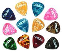 CASCHA HH 2002 Celluloid Guitar Pick Set