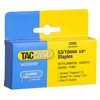 TACWISE Heftklammern 53/10 mm verzinkt 2.000 Stück