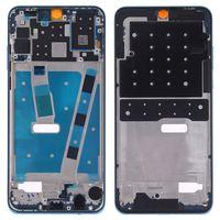 Mittelrahmen für Huawei P30 Lite Blau Front Housing  Frame Bezel Plate LCD Ersatzteil