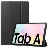 Premium Smartcover Schwarz Tasche Etuis Hülle für Samsung Galaxy Tab A7 T500 / T505 2020