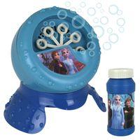 Kinder Disney Frozen Seifenblasenmaschine elektrisch inkl. 100ml Seifenwasser Kinderspielzeug Seifenblasen Bubble Maker