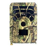 12MP 480P Outdoor-Überwachungskameras Trail- und Wildkamera Bewegungsaktivierte Jagdkamera Outdoor Wildlife Scouting Camera 46 LEDs Nachtsicht IP56 Wasserdicht