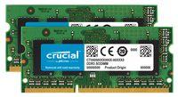 Crucial 16GB (2x8GB) DDR3 1600 PC3-12800 SODIMM 204pin for Mac