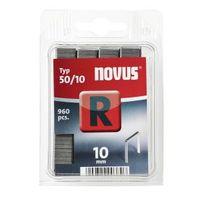 NOVUS Flachdrahtklammer R50 10mm R, (960 Stk)