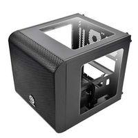 Thermaltake Core V1 - Mini Tower - Mini-ITX - ohne Netzteil - Schwarz - USB/Audio