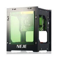 NEJE DK-8-KZ 1500 mW 405 nm Hochgeschwindigkeits-Mini-USB-Lasergravierer Desktop Graviermaschine im Offline-Betrieb