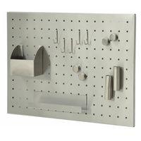 Magnettafel Memo-Board Edelstahl gebürstet 50 x 35 cm