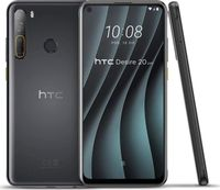 HTC Desire 20 Pro Smartphone 128GB 6GB RAM Black Android LTE Quad-Kamera 5000mAh