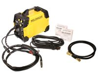Komplettset ME180 mini WELDINGER MIG/MAG-Schweißgerät mit Fülldraht- und Elektrodenfunktion