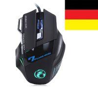 GAMER Maus, Gaming Maus,USB Maus, Maus, PC Maus, Kabellgebunden Maus, Optische Maus, Mouse, Computer Maus, Laptop Maus, Notebook Maus, Gaming Mäuse, Ergonomische Maus, Funkmäuse