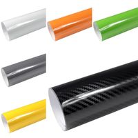 Rapid Teck® 5D Carbon Hochglanz Car Wrapping Autofolie | 152 cm Breite Rapid Teck® 5D Carbon Schwarz Hochglanz Autofolie