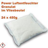 24 x Luftentfeuchter Granulat 450 gr. Nachfüllpack im Vliesbeutel Luft-Trockner Entfeuchter